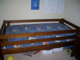 kids twin bed with rails  bedroom design ideas