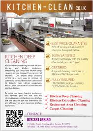 design a flyer for kitchen cleaning company lancer 12 for design a flyer for kitchen cleaning company by amcgabeykoon