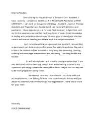 Cover Letter For Aged Care Choice Image Cover Letter Sample Awesome