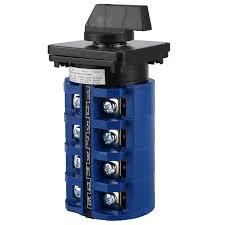 <b>AC 660V 63A 3</b> Positions 4NO+4NO Rotary Selector Cam ...
