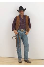 Duane Hanson, Cowboy, 1984 © The Estate of Duane Hanson, Courtesy the  Estate of Duane Hanson and Gagosian Gallery, Photography by Rob McKeever |  Serpentine Sackler Gallery