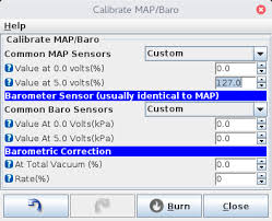 Map Sensor Voltage Chart Calibrating A Map Sensor With Microsquirt Too Many Hobbies