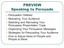 speaking to persuade appendix b sample speech ppt video  preview speaking to persuade