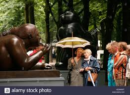 sculptures by columbian artist Fernando Botero in The Hague Stock Photo -  Alamy