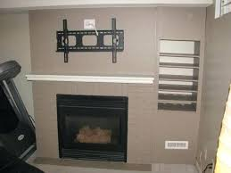 tv over fireplace ideas photo 2 of 6 awesome can you mount over fireplace 2 what