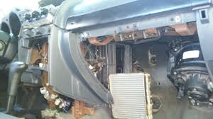 Climate Control Heater Core A/C Evaporator Removal - Nissan ...