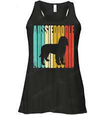 Aussiedoodle Size Chart Vintage Aussiedoodle Shirt Dog Lovers Flowy Tank