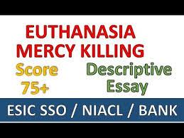 Pro Euthanasia Essay Opinions About Euthanasia Essay Www Moviemaker Com