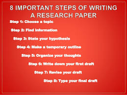 Steps to Writing a Research Paper  Step     Choose a topic      If     Pinterest