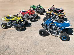 atv test racing 450 shootout dirt wheels magazine