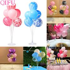 <b>QIFU</b> Happy <b>Birthday Balloons</b> Decor <b>Kids</b> Floating Desk Stand ...