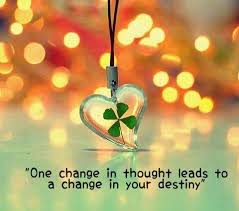 Destiny Quotes Inspiration One Change In Thought Quote Picture