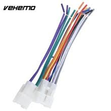 popular toyota stereo harness buy cheap toyota stereo harness lots Aftermarket Stereo Harness vehemo stereo cd player wiring harness wire aftermarket radio install for toyota car aftermarket stereo harness adapter