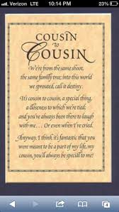 Cousin Love Quotes Beauteous Goodbye Cousin Poems