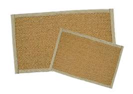 coconut rubber backed rug coco02