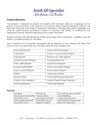 Autocad Drafter Resume Autocad Drafter Resume Sample Najmlaemah 1