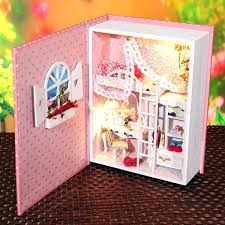 make barbie doll furniture. Diy Doll Furniture House Dollhouse Miniature Building Model Wooden Kits Toy Diary Houses Barbie Pinterest Make