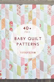 Baby Quilt Patterns Extraordinary 48 Free Baby Quilt Patterns Quilting Pinterest Free Baby