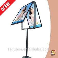 Led Light Box Display Stand Acrylic Light Box Display Stand Billboard Panel Wayfinding Signage 80
