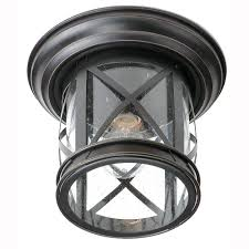 Bel Air Lighting Carriage House Light Outdoor Oiled Rubbed - Black exterior light fixtures
