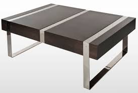 Minimalist Table Furniture Extraordinary Wood Metal Coffee Table Design Ideas