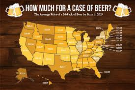 How Many Drinks Is 08 Chart How Much A Case Of Beer Costs In Every Us State