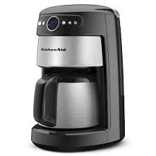 kitchenaid single coffee maker kitchenaid cup thermal carafe coffee maker onyx and miele built in coffee