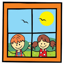 school window clipart. Child Looking Out Window Clipart School