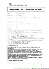 free office samples typical hotel front office manager resume hotel front office manager