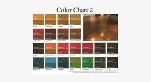 Kemiko Color Chart Concrete Dye Color Chart Kemiko Acid Stain Color