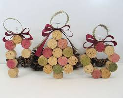 creative homemade christmas decorations. 7. Wine Cork Ornaments Creative Homemade Christmas Decorations