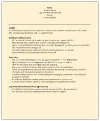 Resume For Packaging Job Résumés and Cover Letters 88