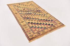 main handknotted 3 2 x 5 2 shiraz gabbeh persian rug photo