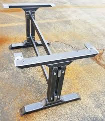 industrial furniture legs. Modest Industrial Table Legs View For Furniture Collection P