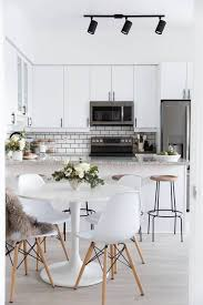 small modern furniture. The Chicest All-white Kitchen / Dining Room. Small Modern Furniture