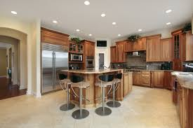 Recessed Lit Kitchen. The goal of recessed lighting spacing ...