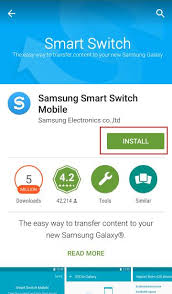 Samsung, smart, switch : Backup and Restore Galaxy