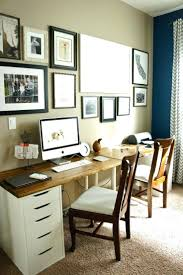office decorating ideas valietorg. Double Desk Home Office. 25 Best Ideas About Office On Pinterest Shared Decorating Valietorg M