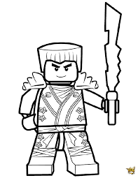 Small Picture Ninjago Coloring Pages Jay Free Here