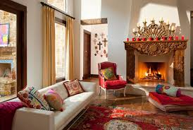 cool fireplace candelabra in living room southwestern with bay window treatment ideas next to kid friendly backyard ideas alongside fireplace surround and