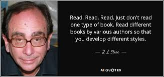 Quotes By Famous Authors Interesting TOP 48 QUOTES BY R L STINE AZ Quotes