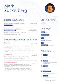 Mark Zuckerberg Resume Template Best of What Mark Zuckerberg's Résumé Might Have Looked Like Before Facebook