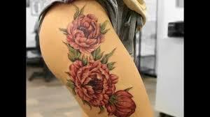тату цветные на руке девушке цветы женские татуировки на лопатке можно