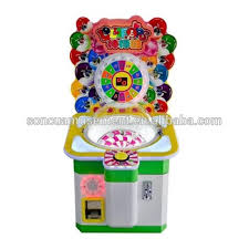 Lollipop Vending Machine Gorgeous Electric Amusement Kids Coin Operated Game Machine Lollipop Candy