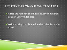 Reading And Writing Multi Digit Numbers Using Ppt Download