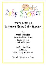 welcome party invitation wording free welcome home wording for 99 baby shower party invites