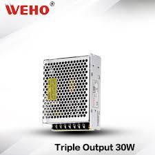 (<b>T</b> 30B) Non waterproof 30W 5V 12V 12V <b>Triple</b> output PSU 30W ...