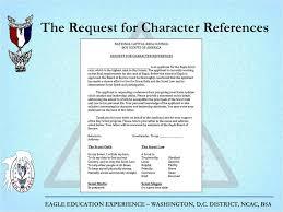 eagle scout candidate letter of recommendation completing the eagle scout rank application ppt download