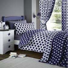 etoile blue star single bedding