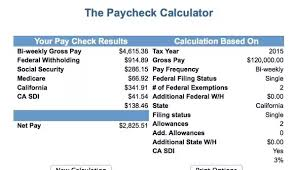 State Of California Paycheck Calculator W2 Paycheck Calculator Magdalene Project Org